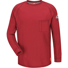 UNFQT32RD-RG-4XL - BulwarkiQ Series™ Long Sleeve Tee