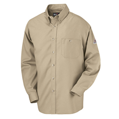 UNFSEG6KH-RG-L - BulwarkMens EXCEL FR® Dress Shirt - 5.25 oz.