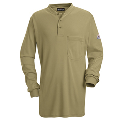 UNFSEL2KH-LN-XL - BulwarkMens EXCEL FR® Tagless Henley Shirt