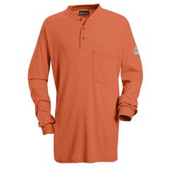 UNFSEL2OR-RG-S - BulwarkMens EXCEL FR® Tagless Henley Shirt