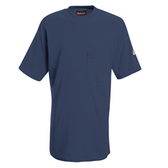 UNFSET8NV-SSL-XXL - BulwarkMens EXCEL FR® Tagless T-Shirt
