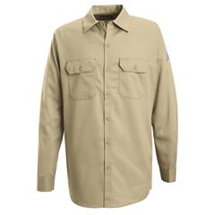 UNFSEW2KH-RG-S - BulwarkMens EXCEL FR® Work Shirt - 7 oz.
