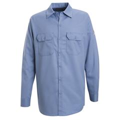 UNFSEW2LB-RG-S - BulwarkMens EXCEL FR® Work Shirt - 7 oz.