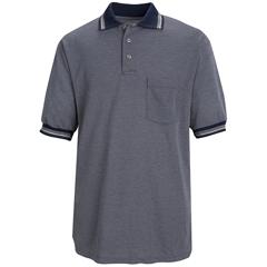 UNFSK08NS-SS-L - Red KapMens Performance Knit® Diamond Pattern Shirt