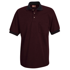 UNFSK52BR-SS-4XL - Red KapMens Performance Knit® Twill Shirt