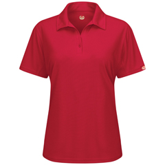 UNFSK91RD-SS-M - Red KapWomens Professional Polo