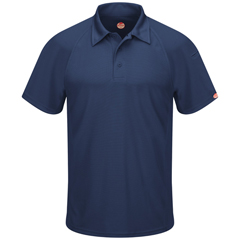 UNFSK92NV-SS-M - Red KapMens Active Performance Polo