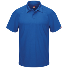 UNFSK92RB-SS-M - Red KapMens Active Performance Polo