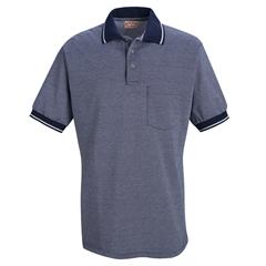 UNFSK94NV-SS-5XL - Red KapMens Performance Knit® Birdseye Shirt