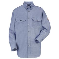 UNFSLU6CY-LN-XXL - BulwarkMens EXCEL FR® ComforTouch® Uniform Shirt - 5.5 oz.