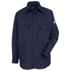 UNFSLU8NV-LN-XL - Bulwark - Unisex EXCEL FR® ComforTouch® Uniform Shirt - 6 oz.