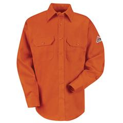 UNFSLU8OR-LN-XL - BulwarkUnisex EXCEL FR® ComforTouch® Uniform Shirt - 6 oz.