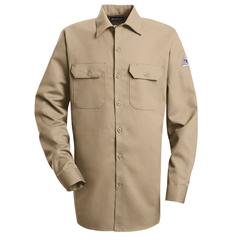 UNFSLW2KH-LN-L - BulwarkMens EXCEL FR® ComforTouch® Work Shirt - 7 oz.
