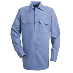 UNFSLW2LB-LN-L - BulwarkMens EXCEL FR® ComforTouch® Work Shirt - 7 oz.