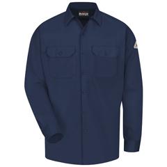 UNFSLW2NV-LN-M - BulwarkMens EXCEL FR® ComforTouch® Work Shirt - 7 oz.