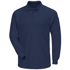UNFSMP2NV-RG-L - BulwarkMens CoolTouch® 2 Classic Polo Shirt