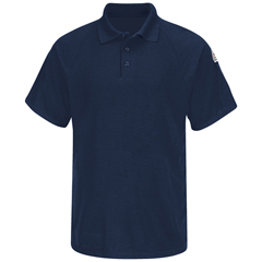 UNFSMP8NV-SS-L - BulwarkMens CoolTouch® 2 Classic Polo Shirt