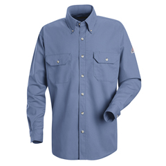 UNFSMU2LB-LN-XXL - BulwarkMens CoolTouch® 2 Uniform Dress Shirt - 7 oz.