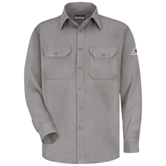 UNFSMU4GY-RG-L - BulwarkMens CoolTouch® 2 Uniform Shirt - 5.8 oz.