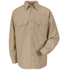 UNFSMU4KH-RG-S - BulwarkMens CoolTouch® 2 Uniform Shirt - 5.8 oz.