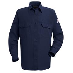 UNFSND2NV-RG-L - BulwarkMens Nomex® IIIA Uniform Shirt - 4.5 oz.
