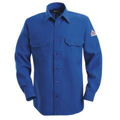 UNFSND6RB-LN-M - BulwarkMens Nomex® IIIA Uniform Shirt - 6 oz.
