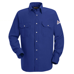 UNFSNS2RB-LN-M - BulwarkMens Snap-Front Nomex® IIIA Uniform Shirt - 4.5 oz.