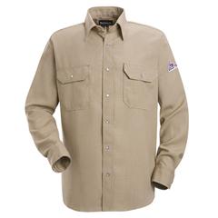 UNFSNS2TN-LN-M - BulwarkMens Snap-Front Nomex® IIIA Uniform Shirt - 4.5 oz.