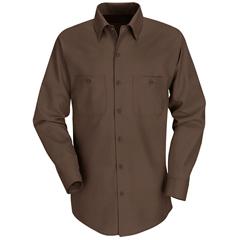 UNFSP14CB-LN-3XL - Red KapMens Industrial Work Shirt