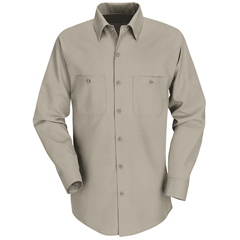 UNFSP14KK-RG-L - Red KapMens Industrial Work Shirt