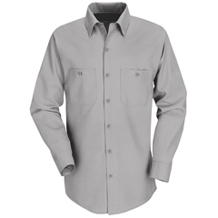 UNFSP14LA-XLN-L - Red KapMens Industrial Work Shirt
