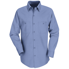 UNFSP14MB-LN-L - Red KapMens Industrial Work Shirt