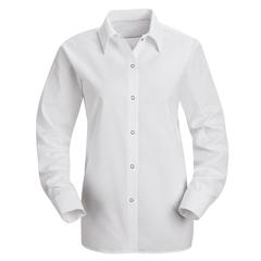 UNFSP15WH-RG-XL - Red KapWomens Specialized Pocketless Work Shirt