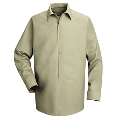UNFSP16LT-RG-S - Red KapMens Specialized Pocketless Work Shirt