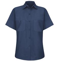 UNFSP23NV-SS-S - Red KapWomens Industrial Work Shirt