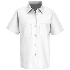 UNFSP23WH-SS-S - Red KapWomens Industrial Work Shirt
