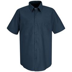 UNFSP24DB-SS-XXL - Red KapMens Industrial Work Shirt