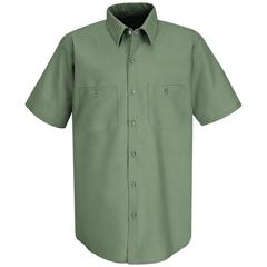 UNFSP24LG-SSL-4XL - Red KapMens Industrial Work Shirt