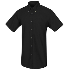 UNFSP80BK-SS-XXL - Red KapMens Poplin Dress Shirt