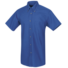 UNFSP80RB-SSL-XL - Red KapMens Poplin Dress Shirt