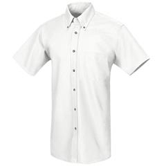 UNFSP80WH-SS-5XL - Red KapMens Poplin Dress Shirt