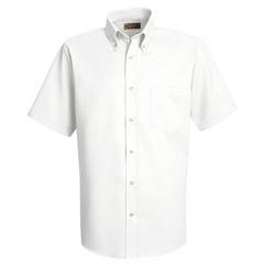 UNFSS46WH-SS-M - Red KapMens Easy Care Dress Shirt