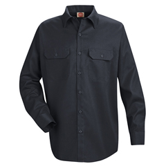 UNFST52NV-RG-XL - Red KapMens Utility Uniform Shirt