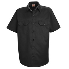 UNFST62BK-SS-4XL - Red KapMens Utility Uniform Shirt