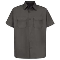 UNFST62CH-SS-S - Red KapMens Utility Uniform Shirt
