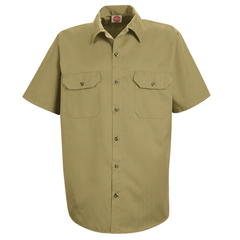 UNFST62KH-SS-XL - Red KapMens Utility Uniform Shirt