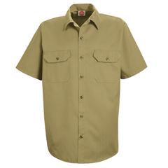 UNFST62KH-SS-M - Red KapMens Utility Uniform Shirt