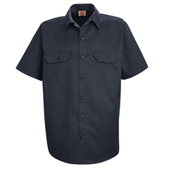 UNFST62NV-SS-XL - Red KapMens Utility Uniform Shirt