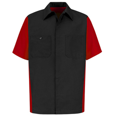 UNFSY20BR-SS-L - Red KapUnisex Crew Shirt