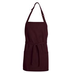 UNFTT32BR-28-24 - Chef DesignsUnisex Premium Short Bib Apron
